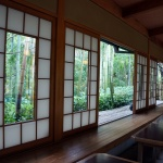 Tea house in Arashiyama, Kyoto, Japan