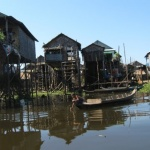 Floating village, Tonle Sap, Cambodia