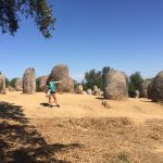 Megalithic Site near Evora, Portugal